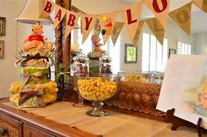 Winnie the Pooh Baby Shower - The Life of the Party
