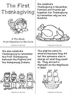 thanksgiving facts for preschoolers printable the thanksgiving book by teachervision 992