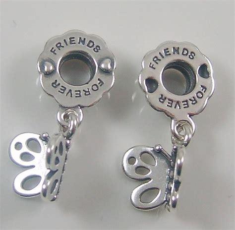 Pandora Charm Best Friend Authentic Genuine Pandora Silver Best Friends Charm Bead