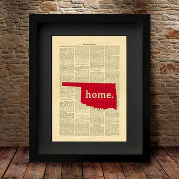 Shop Oklahoma Wall Art On Wanelo Home Decorators Catalog Best Ideas of Home Decor and Design [homedecoratorscatalog.us]