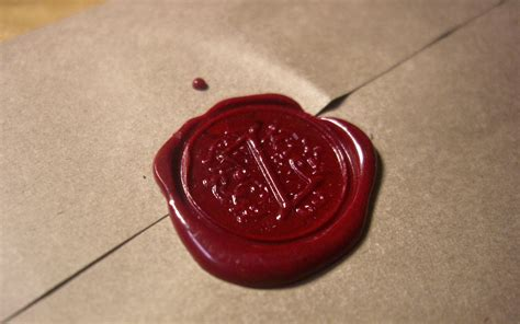 wax letter seal murder mystery clue cards by the letter clink