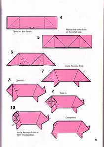 Very Simple Pig Origami Instructions 1 | Papes | Pinterest ...