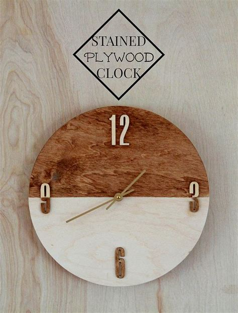 25 unique wooden clock plans best 25 diy clock ideas on pallet clock wall