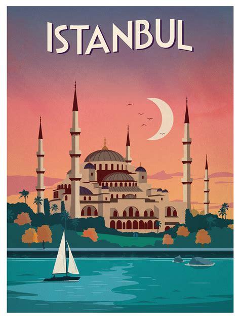 ideastorm studio store vintage istanbul poster
