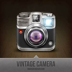 Vintage Camera Icon by weirdsgn on DeviantArt