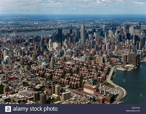 Aerial Photograph Stuyvesant Town Peter Cooper Village To