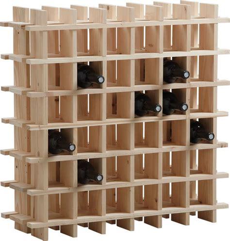 memo de cuisine mural casier à vin en bois 36 bouteilles