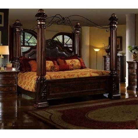 mcferran  rich brown solid hardwood california king