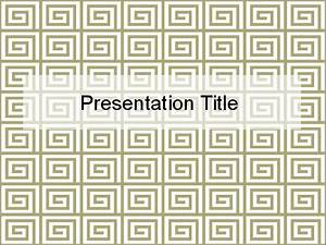 Greek Art Powerpoint Template Image collections ...