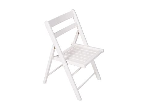folding chair white timber celebrate hire