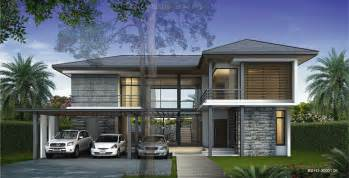 Simple Modern Tropical House Plans Ideas by Cgarchitect Professional 3d Architectural Visualization