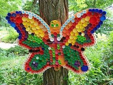 Crafts Ideas with Bottle Caps  Upcycle Art