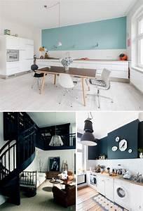 Comment Peindre Une Chambre En 2 Couleurs : conseils peinture chambre deux couleurs peinture 10 ides ~ Zukunftsfamilie.com Idées de Décoration