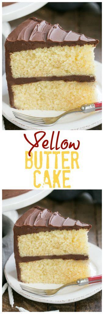 yellow butter cake yellow butter cake with chocolate icing 1508