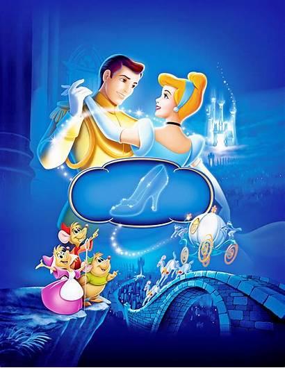 Cinderella Disney Walt Characters Posters Princess Story