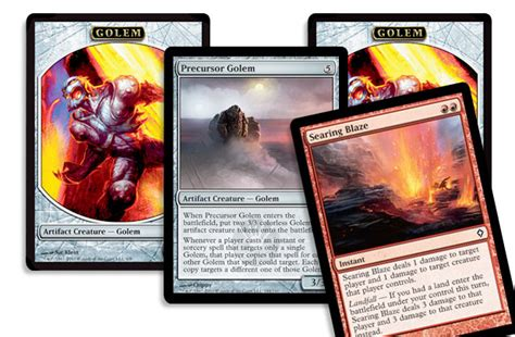 Mtg Precursor Golem Deck by The Ins And Outs Of Scars Standard Daily Mtg Magic