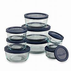 Pyrex® 18piece Kitchen Storage Set  Bed Bath & Beyond