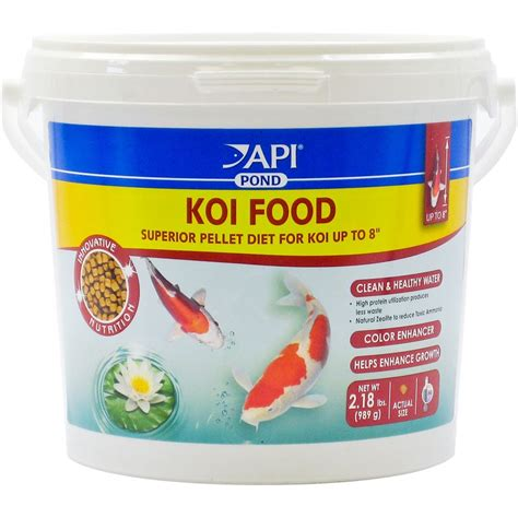 api cuisine api api pond koi food superior pellet diet koi food