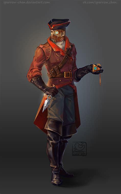 the gentleman pirate steunk assassin by sparrow chan on deviantart