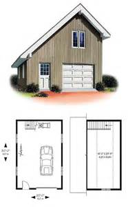 Delightful Garage Blueprints With Loft by 27 Best Images About One Car Garage Plans On