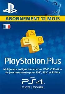 Aufladen De Gutschein : abonnement playstation plus 12 mois pas cher 39 99 ~ Yasmunasinghe.com Haus und Dekorationen