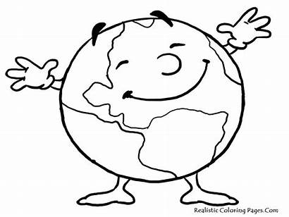 Earth Coloring Pages Printable Clipart Panda Clipartmag