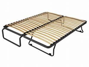 Sommier À Lattes Conforama : cadre lattes 2x80x190 cm gigogne vente de sommier et ~ Dode.kayakingforconservation.com Idées de Décoration