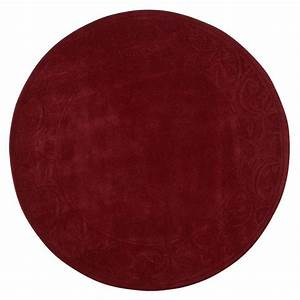 Home Decorators Collection Cyrus Burgundy 7 ft 9 in