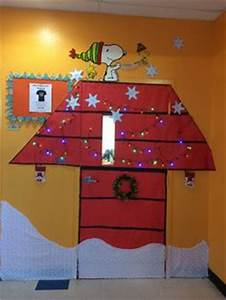 Charlie brown christmas Charlie brown and Christmas door