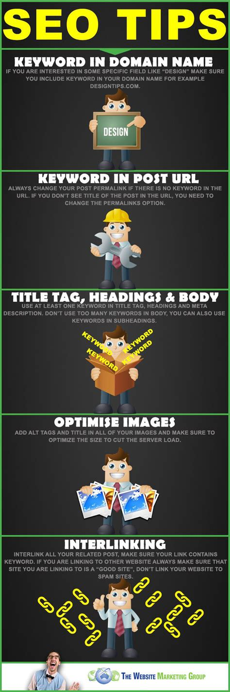Seo Advice by Basic Seo Tips For Startups Infographic Web Design
