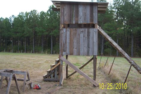 awesome deer shooting house plans pictures building