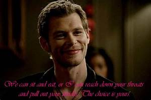 Niklaus Mikaels... Mikaelson Quotes