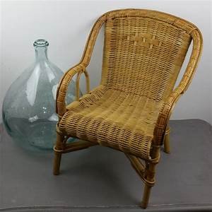 Fauteuil En Osier : fauteuil en rotin et osier tress pour enfant luckyfind ~ Melissatoandfro.com Idées de Décoration