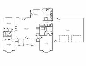 split floor plans traditional country houseplan split bedroom greatroom house plan the house plan site