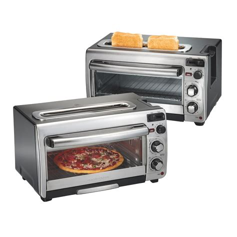 Toaster Oven Toast - hamilton 2 in 1 countertop oven and 2