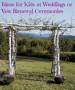 Ideas for Kids at Weddings or Vow Renewal Ceremonies