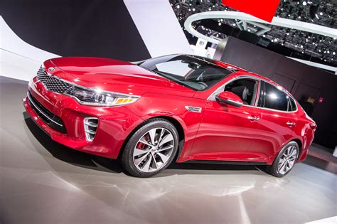 Kia Optima Debuts At 2015 New York Auto Show