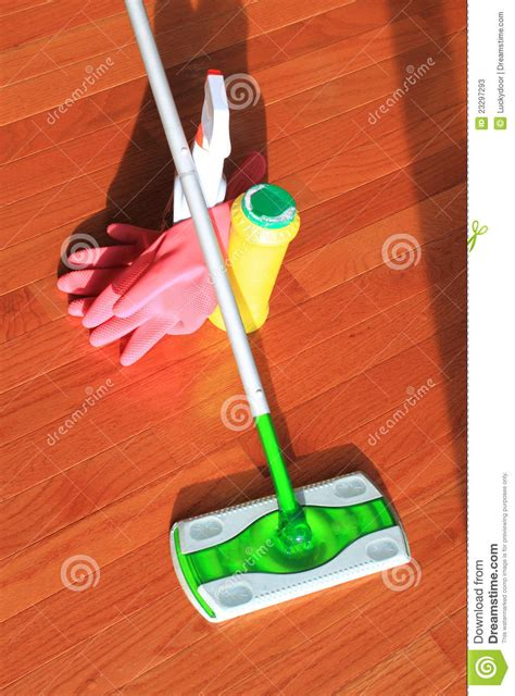 hardwood floor cleaning tools house cleaning tools stock photos image 23297293
