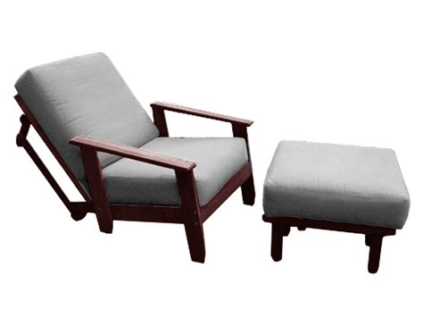 futon chair with ottoman