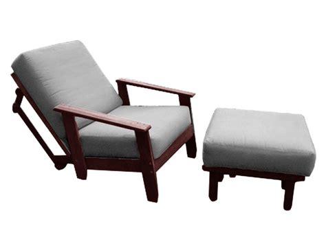 Scandia Outdoor Futon Chair Java  The Futon Shop