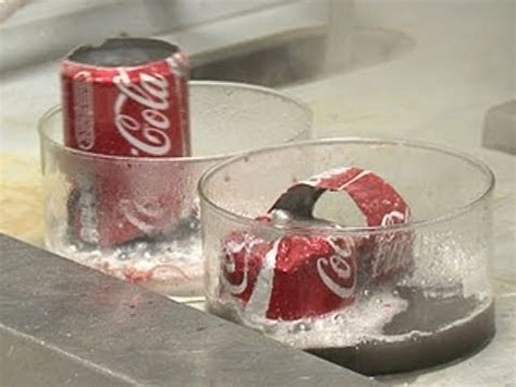 coke cans in acid and base periodic table of videos