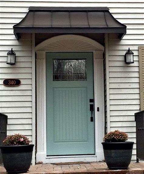 perfect front door awning    bronze juliet