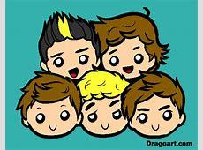 Dibujos de One Direction para Colorear Dibujosnet