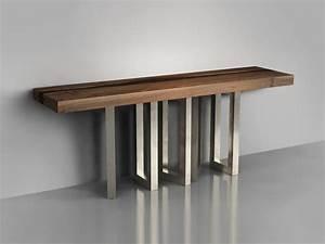 Table Bois Massif Ikea : il pezzo 6 table console by il pezzo mancante design cosimo terzani barbara bertocci ~ Farleysfitness.com Idées de Décoration