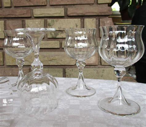 verre en cristal daum service verone