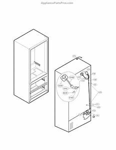 Parts For Lg Lmx25964st    00  Ice Maker Parts