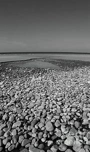Pebbles On The Beach Bw Donegal Ireland | Donegal, Beach ...