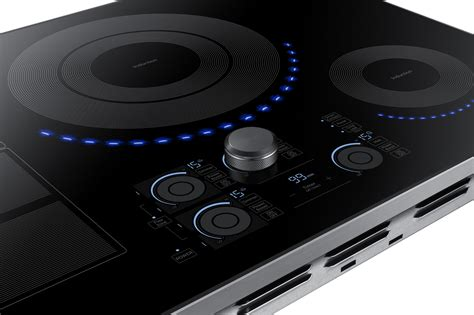 nzkus samsung  induction cooktop wifi  bluetooth connection stainless steel