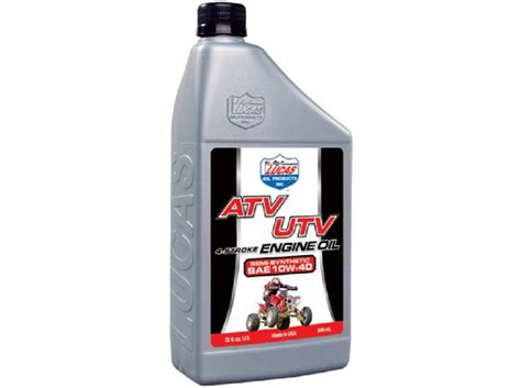 Five Best Motor Oil Options For Atvs And Utvs