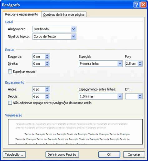 sistema para formatação de trabalhos nas normas abnt normas da abnt parte 2 de informática cursos